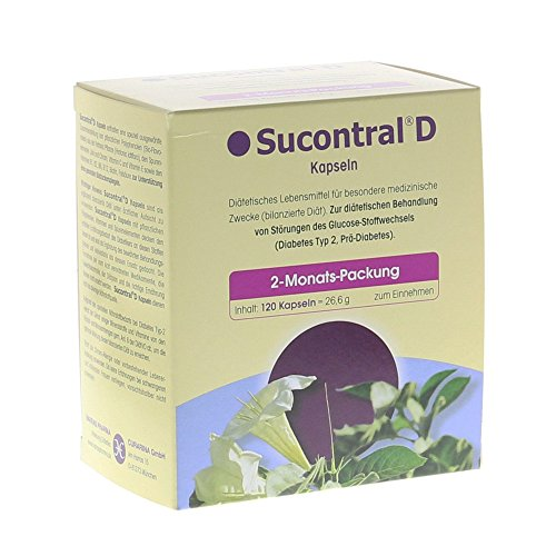 SUCONTRAL D Diabetiker Kapseln 120 Stück (Diabetiker Kapseln)