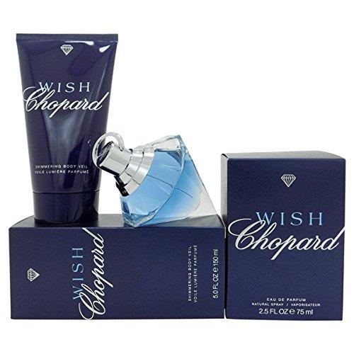 chopard-wish-2-tlg-duft-pflegeset-eau-de-parfum-spray-75-ml-shimmering-body-veil-150-ml-body-lotion