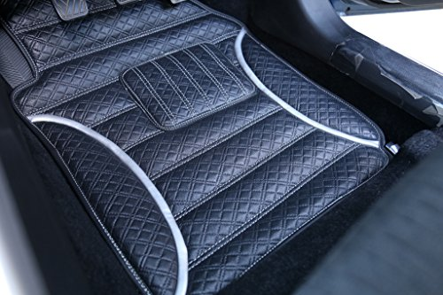 frontline anti skid barfi finish car foot mats for hyundai creta-silver FRONTLINE Anti Skid Barfi Finish Car Foot Mats For Hyundai Creta-Silver 51yrGrnONwL