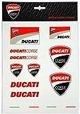 Ducati stickers multicolor big