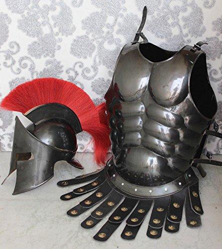historicalmuseum Gladiator Roman Maximus Stil Helm Armor mit -