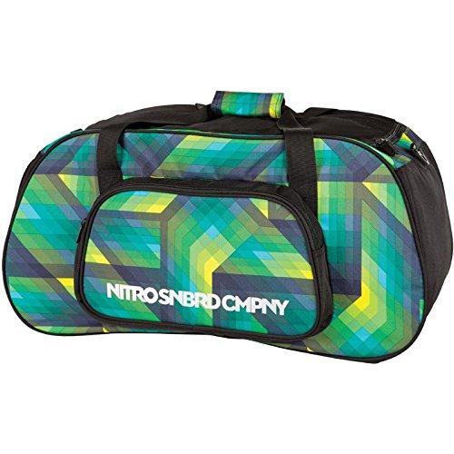 Nitro Snowboards Tasche Duffle Bag, geo green, 60 x 30 x 30 cm, 49 Litre, 878021 Geo Green