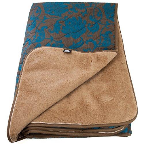 yamalaya-khopra-camel-wolle-square-schlafsack-mit-atmungsaktiv-satin-shell-smaragd-grun