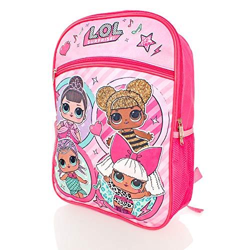 """LOL Surprise Girls Large 16 \""""Zaino Zaino - Per le vacanze scolastiche o la borsa dei libri"""