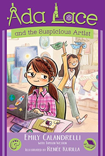 Ada Lace And The Suspicious Artist (An Ada Lace Adventure)