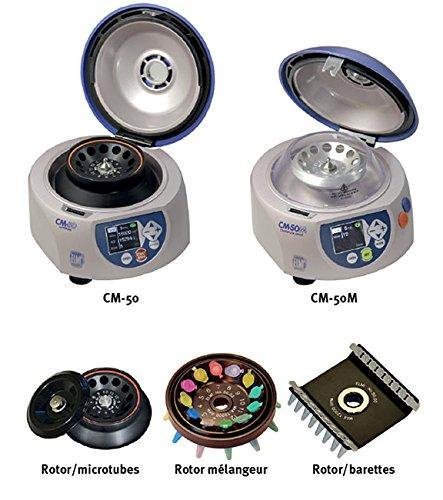 DUTSCHER 065534 rotore per barrette di 2 tubi 0,2 mL o 16 tubi 0,2 mL, solo per centri CM-50 m