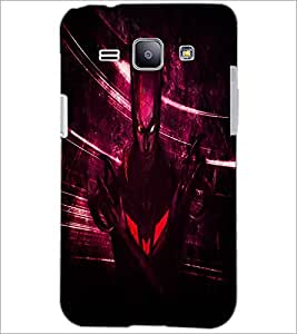 PrintDhaba Batman D-4851 Back Case Cover for SAMSUNG GALAXY J1 (Multi-Coloured)