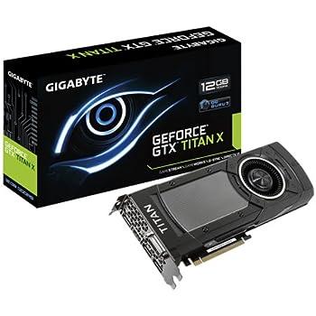 NVIDIA GV-NTITANXD5-12GD-B - Tarjeta gráfica de 12 GB con NVIDIA GeForce GTX Titan X (12 GB gddr5, PCI-e)