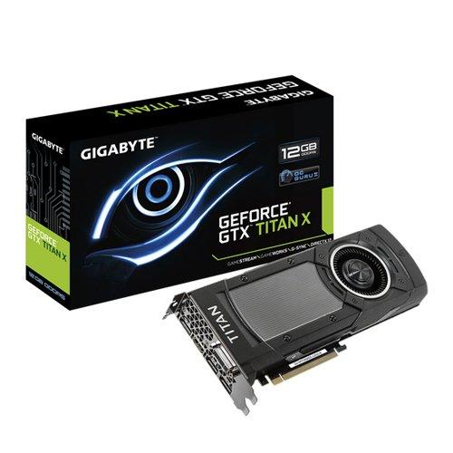 GIGABYTE GeForce GTX Titan X 12GB GDDR5 PCI-E 3.0 (Grafikkarte Titan)