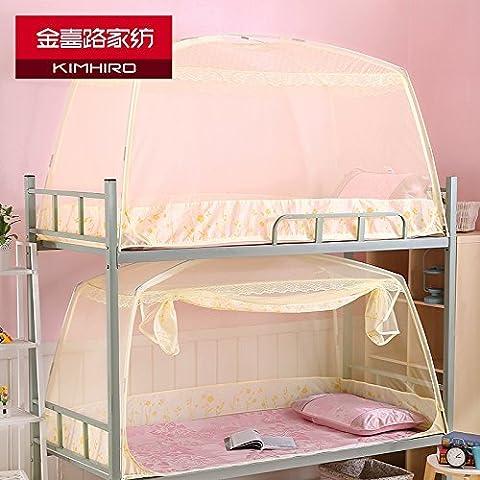 GGH Student hostels Schattierung Netze einzelne Konten sind Etagenbett 0,9m Bett 1,0 m Bettnetze Halterung Mongolei Paket, Student, Moskitonetz, Andere