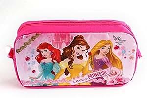 Astuccio Principessa Disney, 19x 12,5x 6cm, accessorio scolastico, da ragazza
