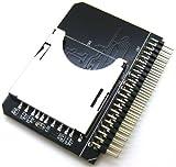 LEAGY Secure Digital SD SDHC SDXC MMC Speicherkarte auf IDE 2,5 Zoll 6,35 cm 44P 44 Pin Stecker Adapter Konverter SD 3.0