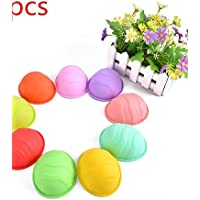 HuaJing 5pcs palla stampo a forma di silicone per il sapone fatto a mano torta cioccolato (colore casuale)