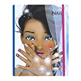 Creative 035 Nail Art Design Book, Azzurro