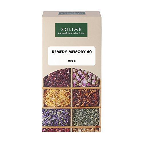 Remedy Memory Tisana con Centella e Ginkgo Biloba per la memoria 250 g - Prodotto erboristico made in Italy