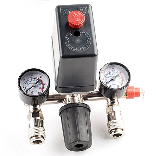 Druckregler mit Druckschalter Kompressor Druckwächter Kompressorschalter