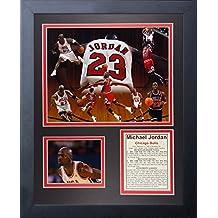'Leyendas nunca mueren Michael Jordan II foto enmarcada Collage, 11x 14