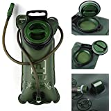 CAMTOA Hiking Camping Climbing Outdoor Event 2L Water Hydration Bladder Green