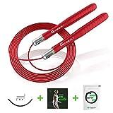GUARD & REVIVAL TREAT Speed Rope Springseil, Profi Stahlkugellager, Für Fitness, Ausdauer und...