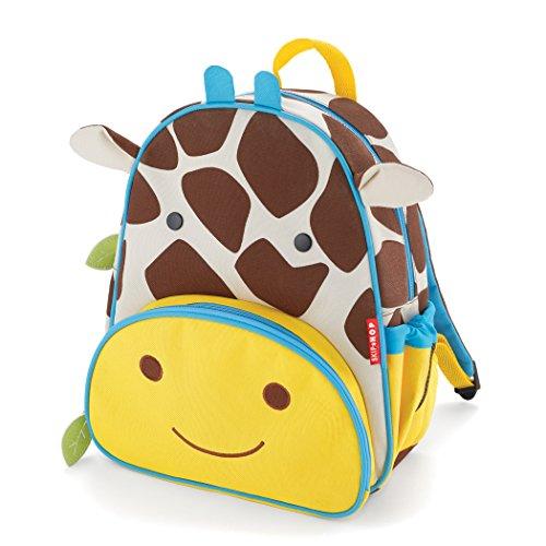 Skip Hop Zoo - Zaino per bambini, motivo: animali dello zoo multicolore Giraffe