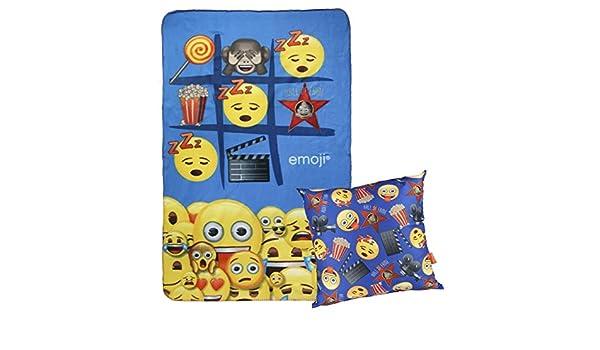 Size: /Única Azul 04 Cerd/á 2200002431 Emoji Kidney Warmers Blue One