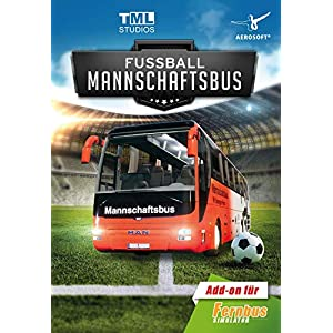 Fernbus Simulator Add-on – Fußball Mannschaftsbus – Standard DLC | PC Download – Steam Code