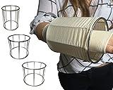Tubigrip sterogrip elastischer Schlauchverband Gaze leicht Applikator Gerät–Größe: Medium für große Arme Handgelenken, kleine Erwachsene Beine 17cm