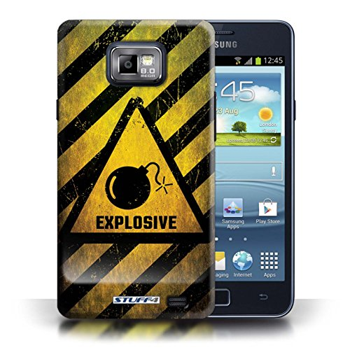 Coque de Stuff4 / Coque pour Samsung Galaxy S2/SII / Explosif Design / Signes de Danger Collection Explosif