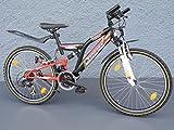 24' Zoll MTB MIFA Fahrrad SHIMANO Fully Kinder Jugendrad STVZO Standlicht