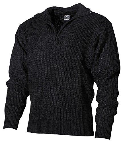 BW Isländer Pullover schwarz S-XXXL XL XL,Schwarz
