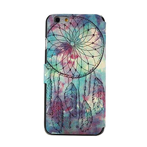 """MOONCASE pour iPhone 6 (4.7"""") Coque en Cuir Housse de Portefeuille Protection Étui à rabat Case Mi13 Mi06 #1130"""