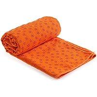 Preisvergleich für ROKFSCL Rutschfeste Yoga-Matte Handtuch Handtuch Hot Yoga Mikrofaser Schweiß absorbierenden Super Weichen 183x 63cm Fitness Decke Multi-funtion Handtuch