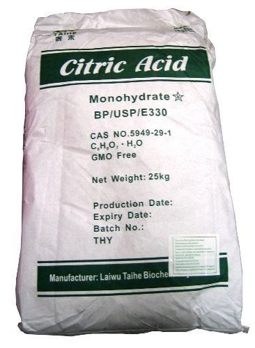 Citric Acid Zitronensäuregranulat 25 kg im Papiersack
