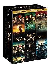 Idea Regalo - Pirati dei Caraibi Collezione (5 DVD)