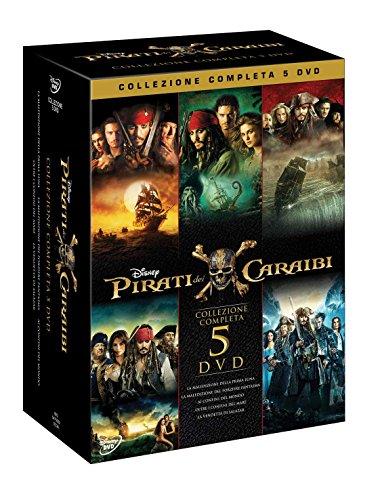 Pirati dei Caraibi Collezione (5 DVD)