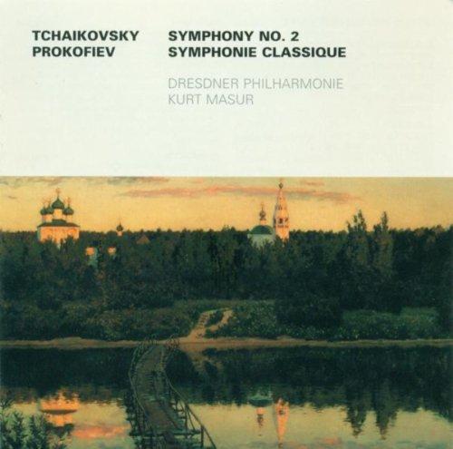 Tchaikovsky, P.I.: Symphony No. 2 / Prokofiev, S.: Symphony No. 1 (Dresden Philharmonic, Masur) (2 Symphony Prokofiev)