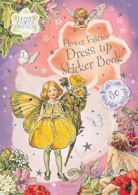 By Barker, Cicely Mary ( Author ) [ Flower Fairies Dress Up Sticker Bk [With 80 Reusable Stickers] ] Feb - 2006 { Paperback }