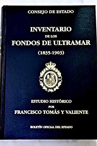 Inventario de los fondos de Ultramar (1835-1903)