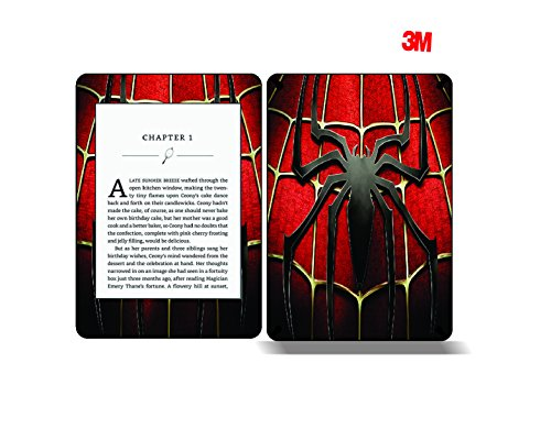 Elton 3M Vinyl Skin Decal Sticker Protective for Kindle Paperwhite eBook Reader Wrap Cover Skin – Spider-Man 3