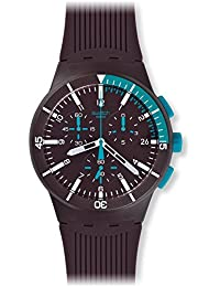 Swatch Purple Power Analogue Dial Men's Watch SUSV400