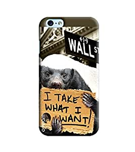 Omnam I Take What I Want Printed Designer Back Cover Case For Apple Iphone 6/6s