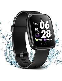 Verpro Bluetooth Smart Watch Waterproof Fitness Watch Fitness Tracker Sport Watch with Pedometer and Heart Rate Monitor Smart Watch for Men Women