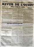 Telecharger Livres REVUE DE L OUEST No 72 du 16 06 1855 JOURNAL POLITIQUE ET D ANNONCES (PDF,EPUB,MOBI) gratuits en Francaise