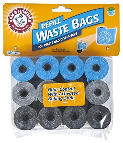 arm-hammer-71040-disposable-waste-bag-refills-assorted-180-by-arm-hammer