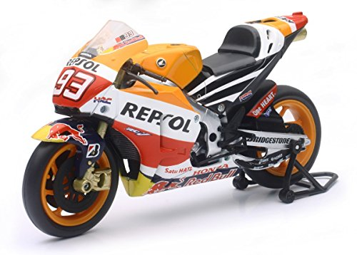 Ray - 57663 - Vehículo Ready - Modelo AT-ancha - Honda Moto Gp Marco Márquez - Escala 1/12