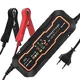 KYG Autobatterie Ladegerät Vollautomatisches Batterieladegerät für Auto und Motorrad ladegerät 6/12V 5A