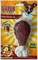 Foodie Puppies Fun Nylon Chicken Leg Chew Dog Toy