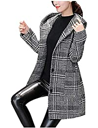 timeless design 3c90a 69a23 Amazon.it: Cappotto a quadretti - Donna: Abbigliamento