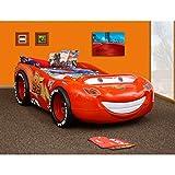 Kinder Bett Kinderbett Autobett Auto Rennauto Lightning McQueen ABS
