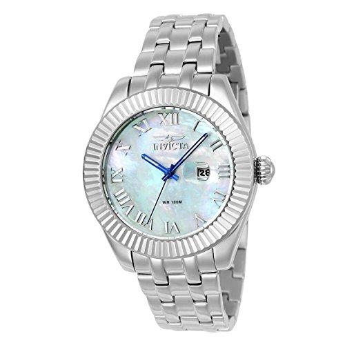 Invicta Wildflower braccialetto da donna orologio bracciale acciaio inox + gomma quarzo 23646